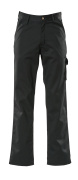 00299-430-09 Broek met dijbeenzakken - zwart