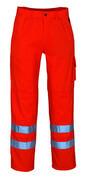 00479-860-14 Broek met kniezakken - hi-vis oranje