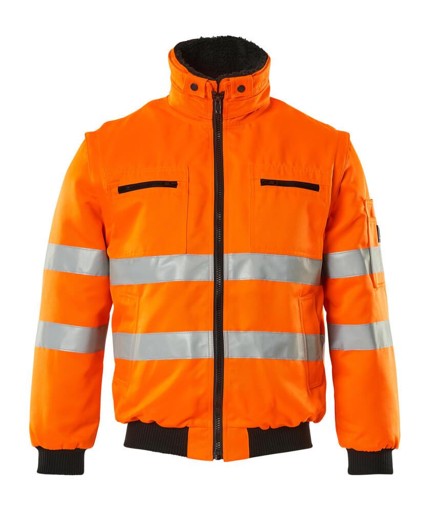 00520-660-14 Pilotenjas - hi-vis oranje