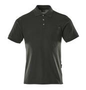 00783-260-09 Poloshirt met borstzak - zwart