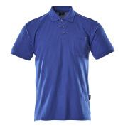 00783-260-11 Poloshirt met borstzak - korenblauw