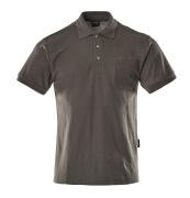 00783-260-18 Poloshirt met borstzak - donkerantraciet