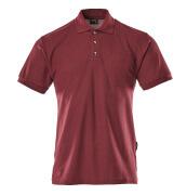 00783-260-22 Poloshirt met borstzak - bordeaux