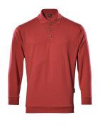 00785-280-02 Polosweatshirt - rood