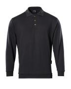 00785-280-09 Polosweatshirt - zwart