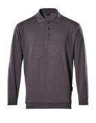 00785-280-888 Polosweatshirt - antraciet