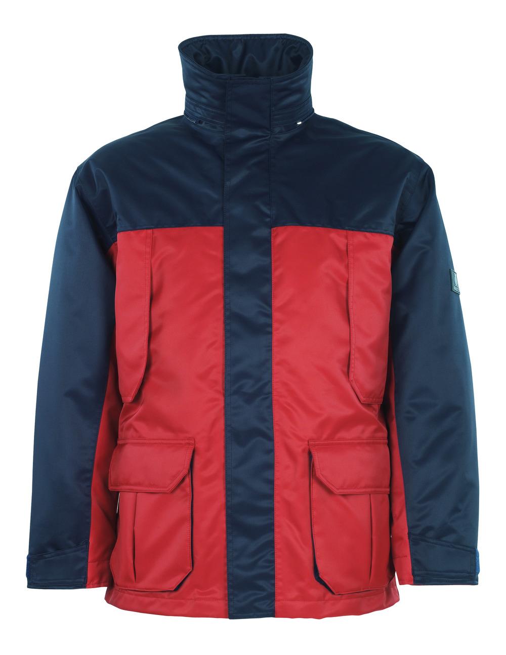 00930-650-21 Parka - rood/marine