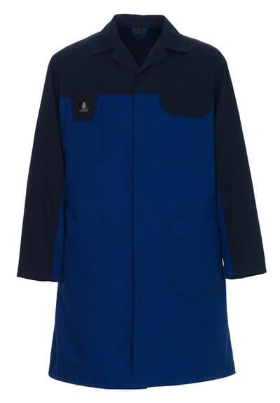 00959-330-1101 Stofjack - korenblauw/marine