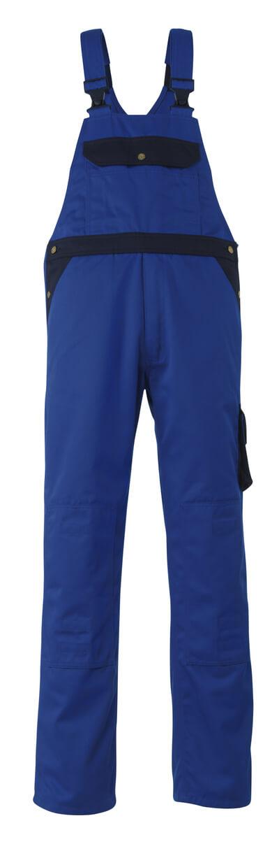 00969-430-1101 Amerikaanse overall met kniezakken - korenblauw/marine