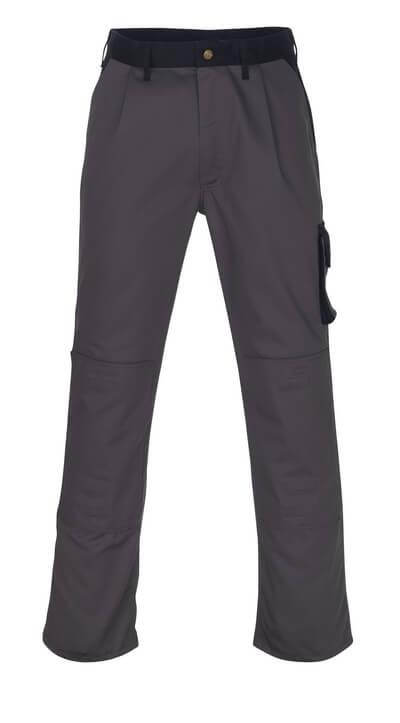 00979-430-111 Broek met kniezakken - marine/korenblauw