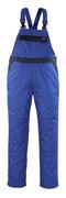 04569-800-1101 Amerikaanse overall met kniezakken - korenblauw/marine