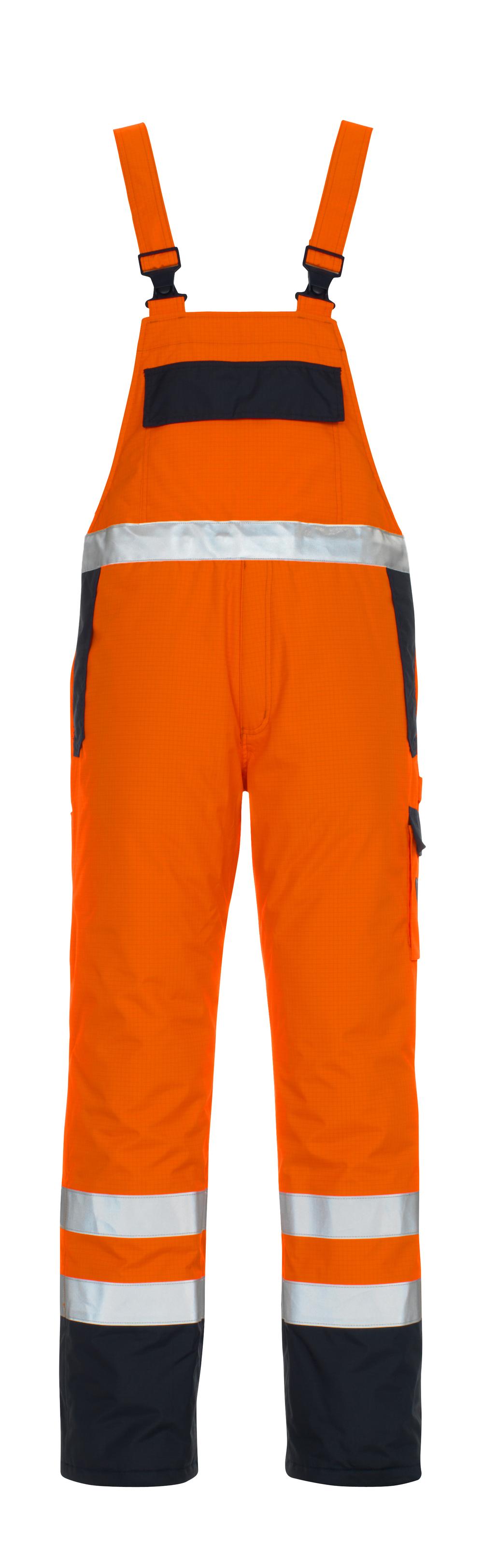 05192-064-141 Amerikaanse overall - hi-vis oranje/marine