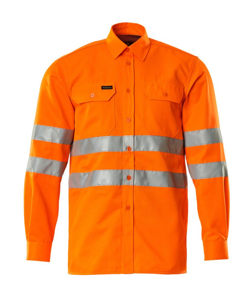 06004-136-14 Overhemd - hi-vis oranje