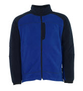 06042-137-1101 Fleece jas - korenblauw/marine
