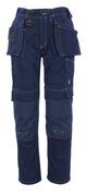 06131-630-01 Broek met spijkerzakken - marine
