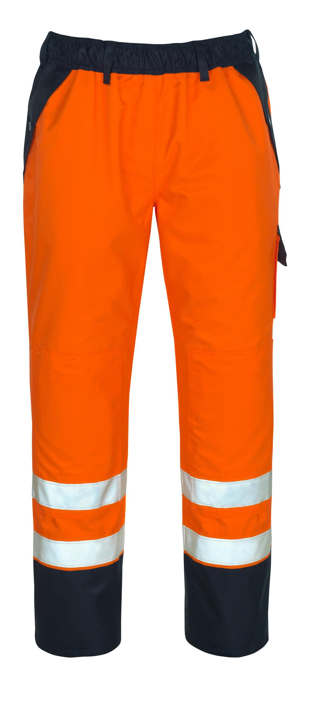 07090-880-141 Overtrekbroek - hi-vis oranje/marine
