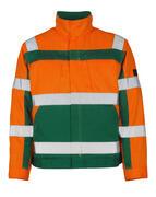 07109-860-1403 Jack - hi-vis oranje/groen