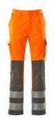 07179-860-14888 Broek met kniezakken - hi-vis oranje/antraciet
