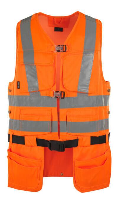 08089-860-14 Gereedschapsvest - hi-vis oranje