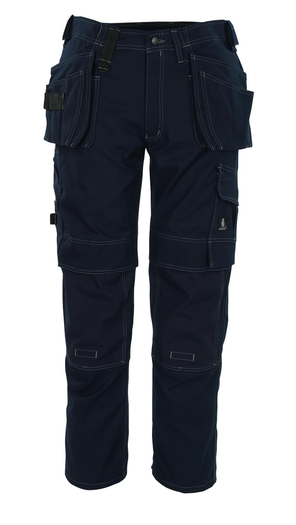 08131-010-01 Broek met spijkerzakken - marine