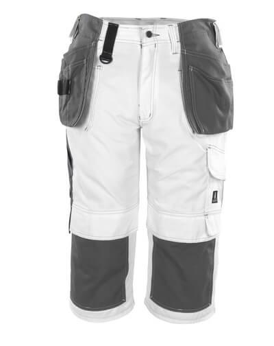 08349-154-06 Driekwart broek met knie- en spijkerzakken - wit