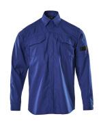 09004-142-11 Overhemd - korenblauw