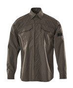 09004-142-18 Overhemd - donkerantraciet