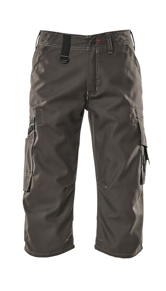09249-154-18 Shorts, lange - donkerantraciet