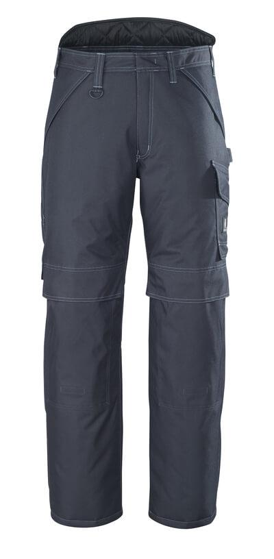 10090-194-09 Winterbroek met kniezakken - zwart