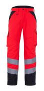 11090-025-A49 Winterbroek - hi-vis rood/donkerantraciet