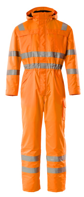11119-880-14 Winteroverall - hi-vis oranje