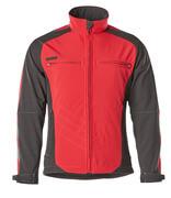 12002-149-0209 Softshell jack - rood/zwart