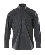 12004-530-09 Overhemd - zwart