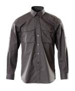 12004-530-18 Overhemd - donkerantraciet