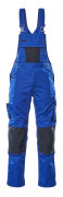 12169-442-11010 Amerikaanse overall met kniezakken - korenblauw/donkermarine