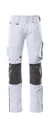 12679-442-0918 Broek met kniezakken - zwart/donkerantraciet