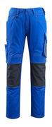 12679-442-11010 Broek met kniezakken - korenblauw/donkermarine