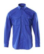 13004-230-11 Overhemd - korenblauw