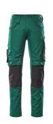 13079-230-0309 Broek met kniezakken - groen/zwart