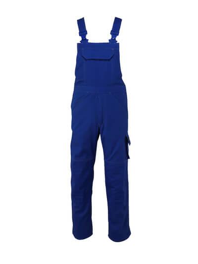 13169-430-11 Amerikaanse overall met kniezakken - korenblauw