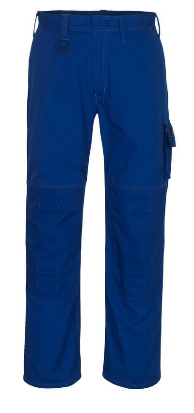 13179-430-11 Broek met kniezakken - korenblauw
