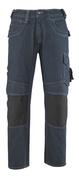 13279-207-B52 Jeans met kniezakken - denimblauw