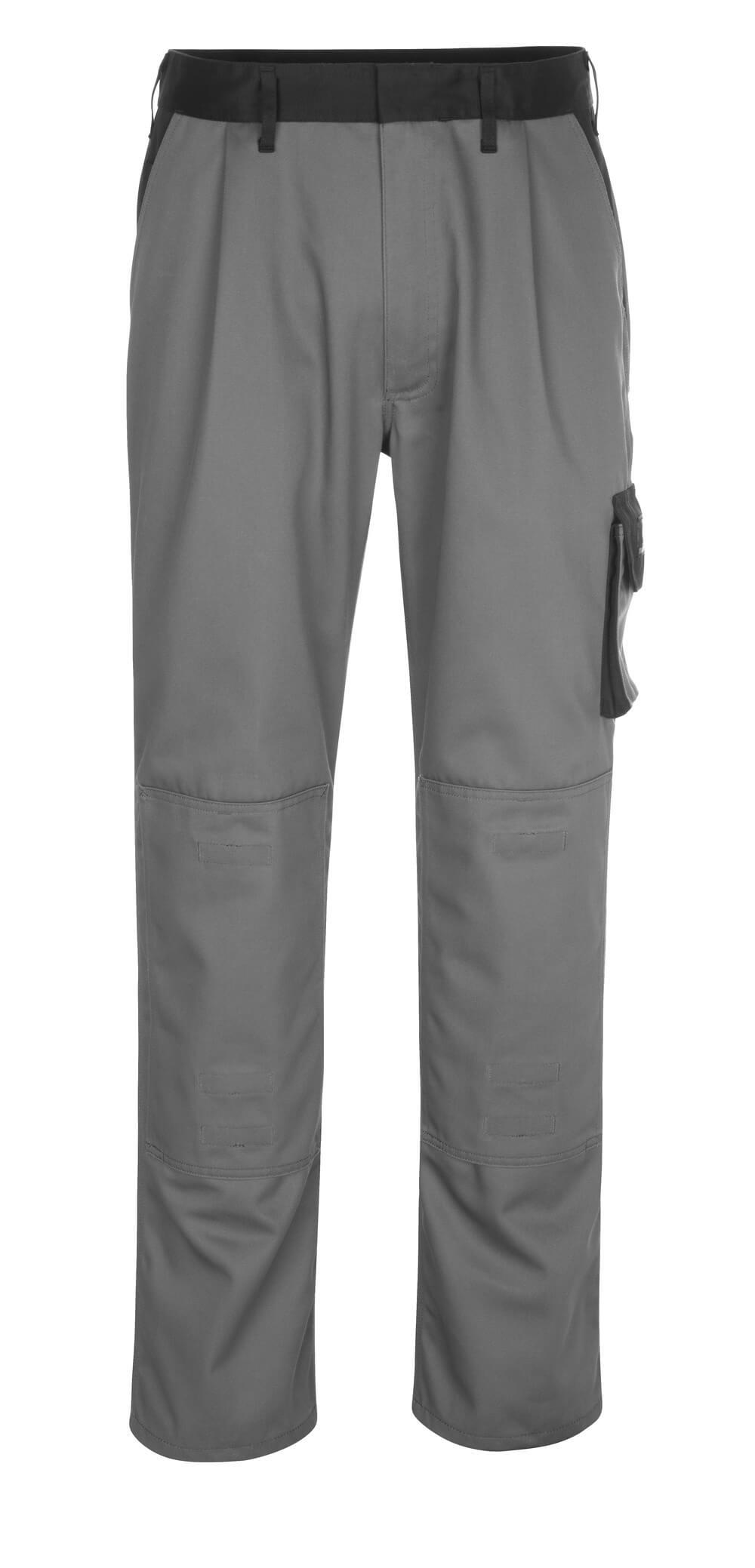 14179-442-8889 Broek met kniezakken - antraciet/zwart