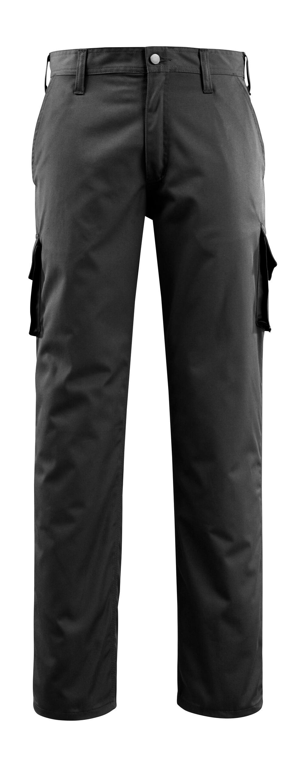 14779-850-09 Broek met dijbeenzakken - zwart