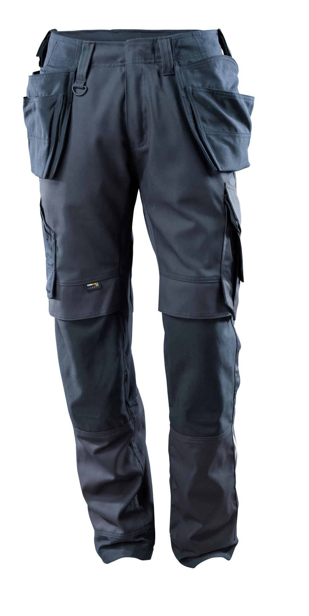 15031-010-010 Broek met knie- en spijkerzakken - donkermarine