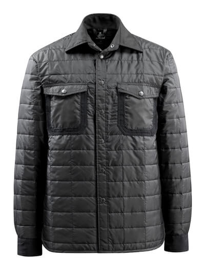 15104-998-09 Overhemd met voering - zwart