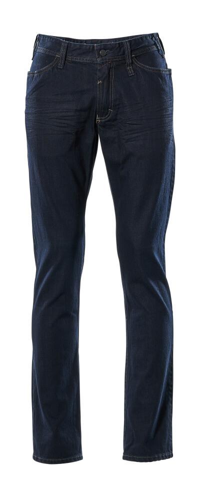 15379-869-66 Jeans - gewassen donkerblauw denim