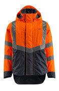 15501-231-14010 Shell jas - hi-vis oranje/donkermarine