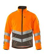 15503-259-1418 Fleecejack - hi-vis oranje/donkerantraciet