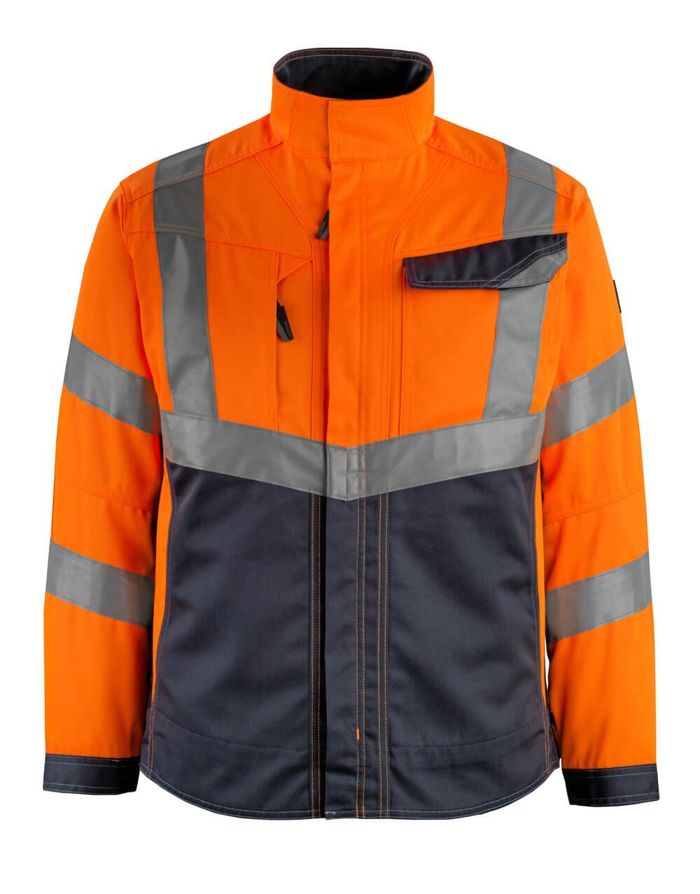 15509-860-14010 Jas - hi-vis oranje/donkermarine